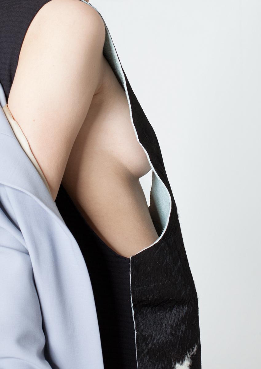 Fashionfoto mit Ausschnitt eines Körpers